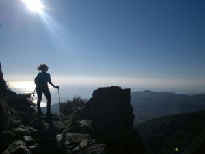 Salendo sul Monte Rama
